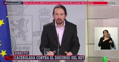 """Según Iglesias, hoy de vedette, y chupando cámara """"sólo la pública no se pone de perfil"""""""