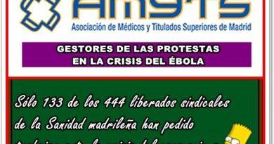 El sindicato de los gestores de las protestas en la crisis del Ébola