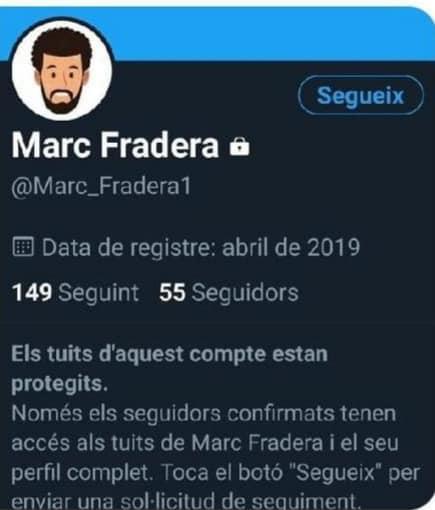 Gabrielín, el muy rufián, ha creado una cuenta fake