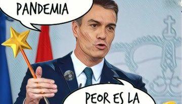 Traducción al español del sanchinflés: quiero un nuevo PacTimo de la Moncloa para seguir de Presidente. Por Linda Galmor