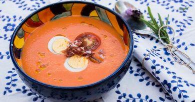 De las mejores recetas de España: Salmorejo cordobés. Por Diana Cabrera