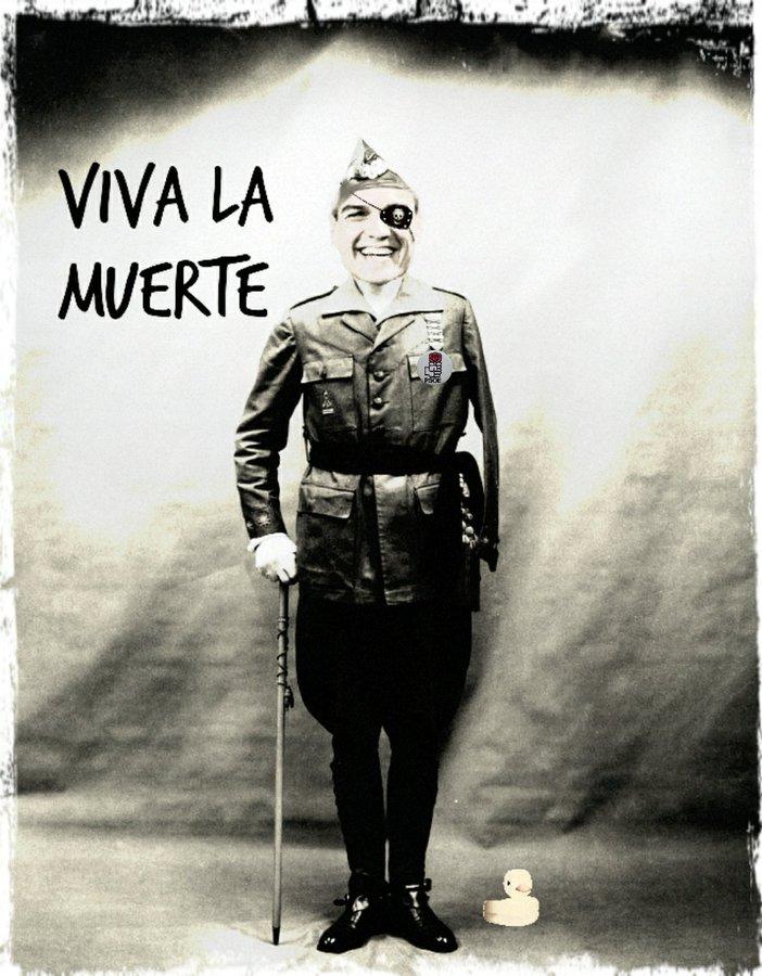 A más muertos y más crisis económica, más contentos estamos los españoles. Por Linda Galmor