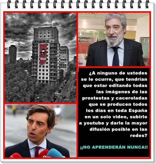 ¿A ninguno de ustedes se les ocurre que deberían estar editando las caceroladas de toda España?