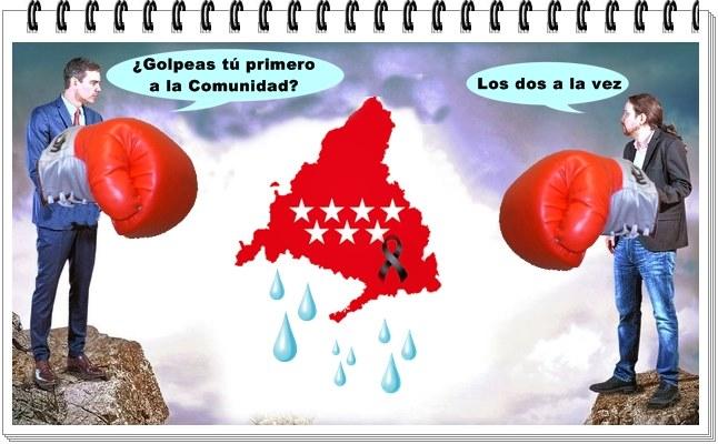 Madrid no puede seguir siendo la 'zona cero' de la pelea partidista; ni el plan piloto diseñado por alguien para la socialización