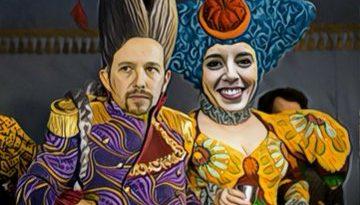HRH the Prince of Walapagar y su Churri  desean un Feliz Miércoles a todos los agraciados y agraciadas con su escudo social. Por Linda Galmor