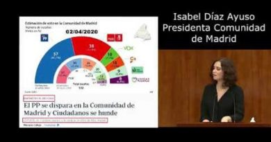 Isabel Díaz Ayuso, un valor en alza.