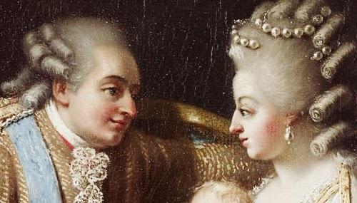 Luis XVI y Maria Antonieta