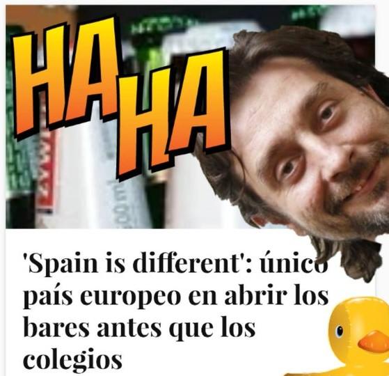 Sigo alucinada con lo de los bares en esta Spain is different. Por Linda Galmor