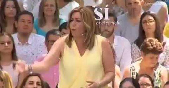 Susana Díaz y los votos de los andaluces