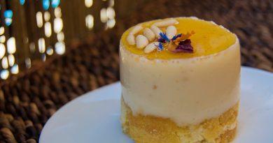 Tartita de queso y miel. Por Diana Cabrera