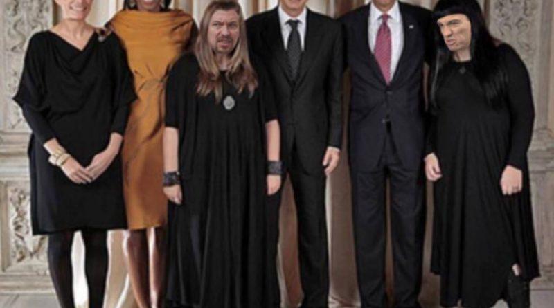 Al final se demuestra que sí, que España es un país de borregos disfrazados. De aquellos polvos estos lodos. Ilustración de Tano