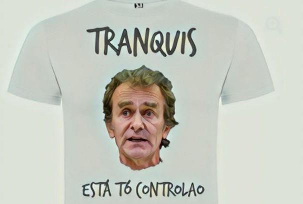 Camiseta para alternar en el chiringuito