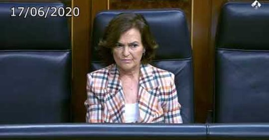 Cayetana Álvarez de Toledo vs Carmen Calvo, vayan por palomitas, sesión