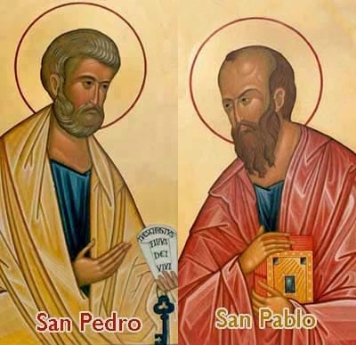 Felicidades a todos los Pedros y Pablos...y que lean y aprendan de sus palabras
