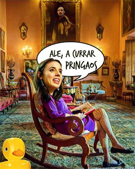 La churri del HRH the Prince of Walapagar desea un féliz sábado. Por Linda Galmor