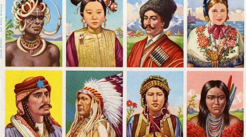 """Los colores de la piel y los daltónicos intelectuales:  Bruguera """"Razas humanas"""""""