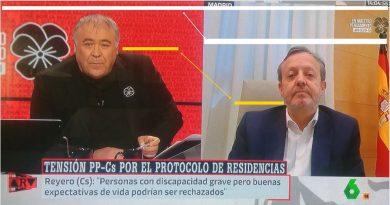 La bazofia cotidiana de los falsos profesionales: si es de la derecha se le perjudica visualmente. Por Rafael Gómez de Marcos