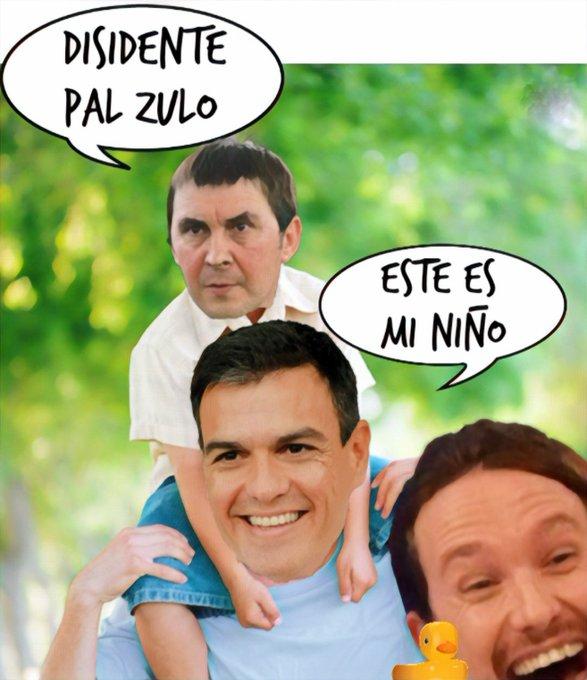 Bildu tienta al Psoe y Podemos con un tripartito en las Vascongadas. Por Linda Galmor