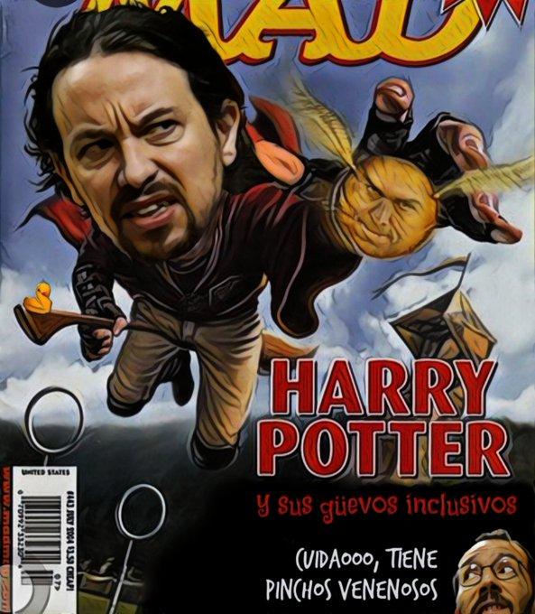 De las pelis con chepas nuestra preferida es Chepas Potter. Por Linda Galmor