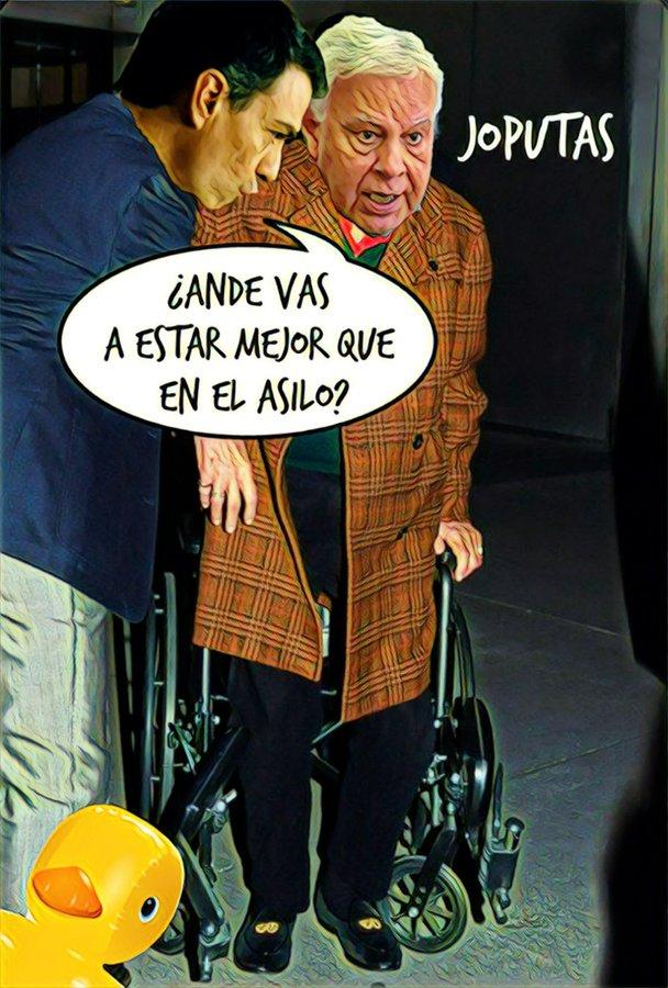 Felipe, desde su confinamiento secreto en la sierra, pide no prejuzgar al Rey Emérito. Por Linda Galmor