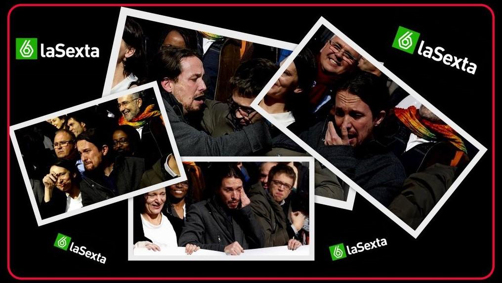 Ferreras, la Sexta y Pablo Iglesias llorando
