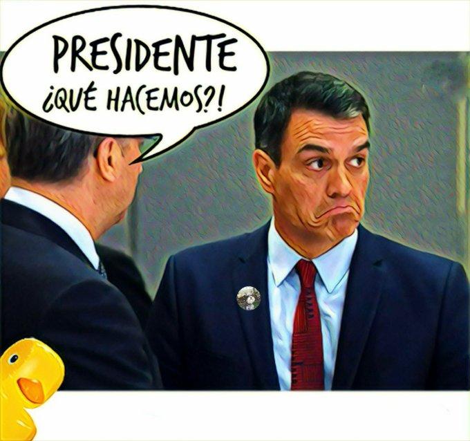 Fracaso de Sánchez en su tour por Europa pasando la gorra para las paguitas
