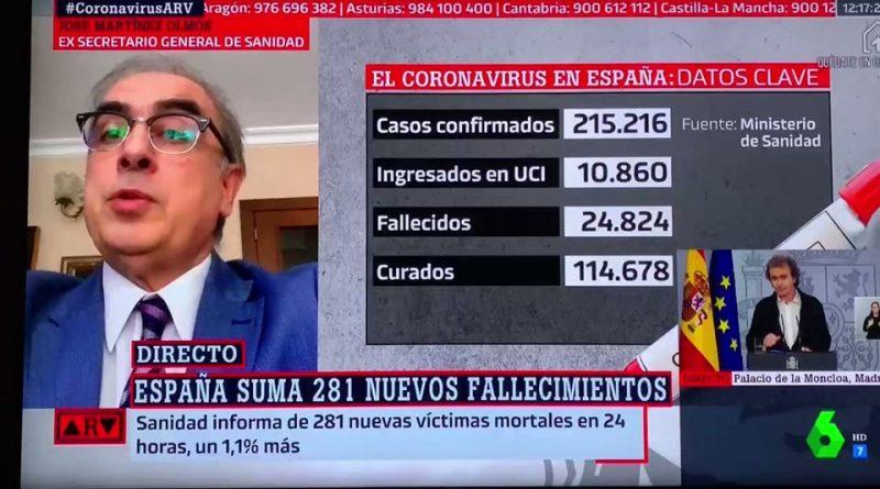 Si militas en La Sexta no sabrás que José Martínez Olmos