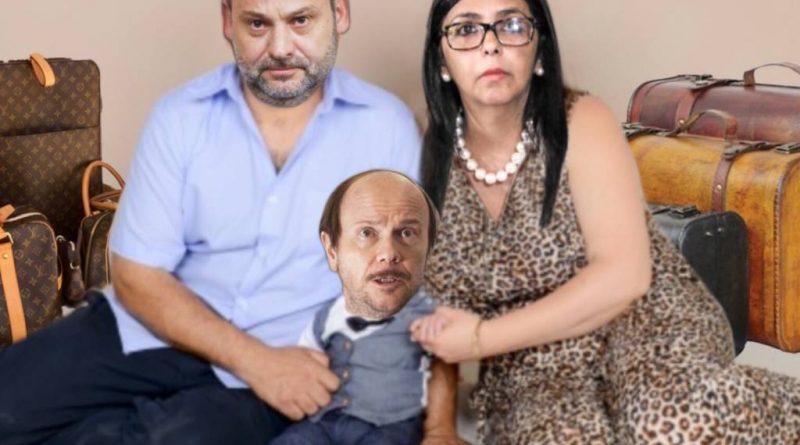 La España eterna de la vergüenza, el pelotazo político y la pertinaz sequía. Ilustración de Tano