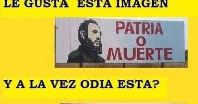 La izquierda gusta del Patria o Muerte y odia el Todo por la Patria