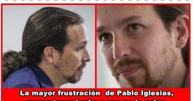 La mayor frustración de Pablo Iglesias es querer tener una buena barba