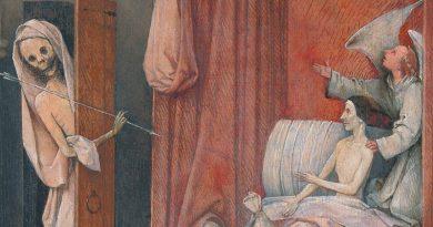 Trabajo y esclavitud: La muerte de un avaro. El Bosco
