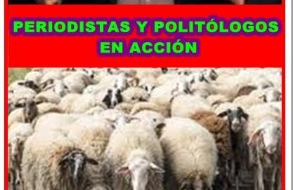 Los falsos periodistas y politólogos en acción tras las elecciones autonómicas
