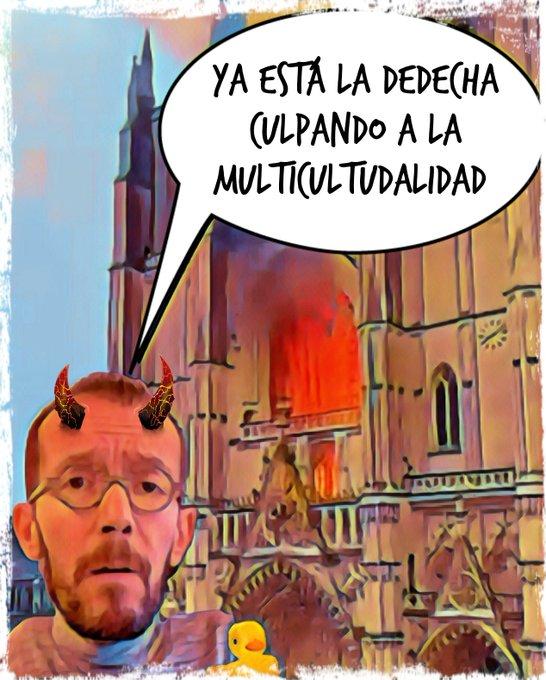 Otra más. Arde la catedral gótica de Nantes. Por Linda Galmor
