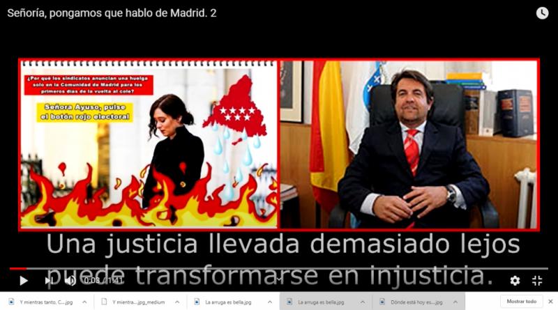 Señoría, pongamos que hablo de Madrid.