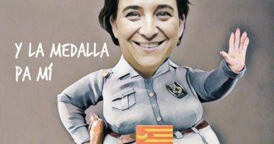 Inmaculada ha quitado la medalla de Barcelona al Rey Emérito