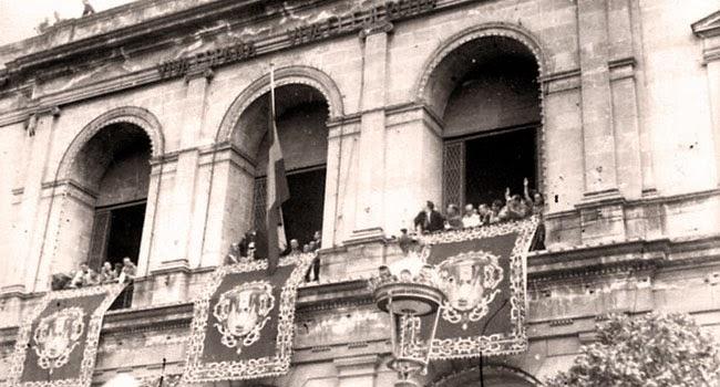 Izado-de-la-bandera-bicolor Discurso de Mola, 15 agosto 1936