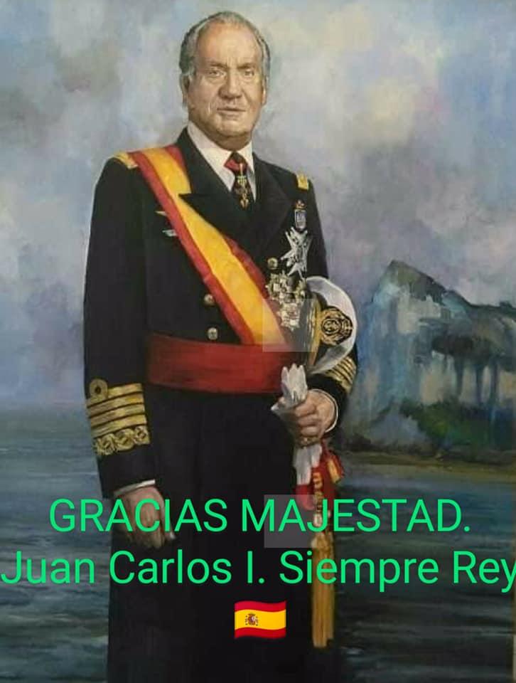 Juan Carlos siempre Rey