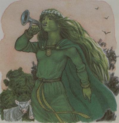 La reencarnación de la Dama verde