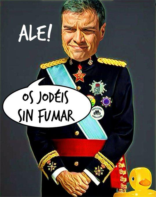 Mensaje de Perro Sánchez desde el Palacio de las Marismillas en Doñana. Por Linda Galmor