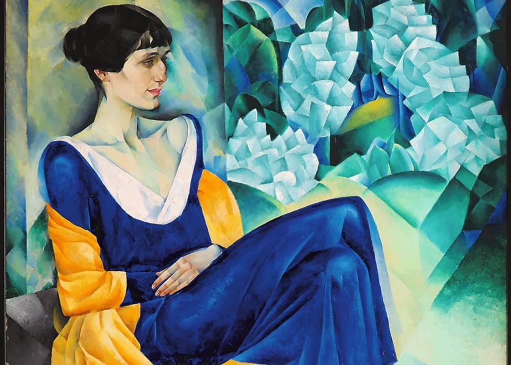 Retrato de Anna Ajmátova, de Natham Altman. Museo Ruso de Málaga