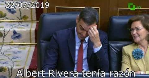 Albert Rivera tenía razón