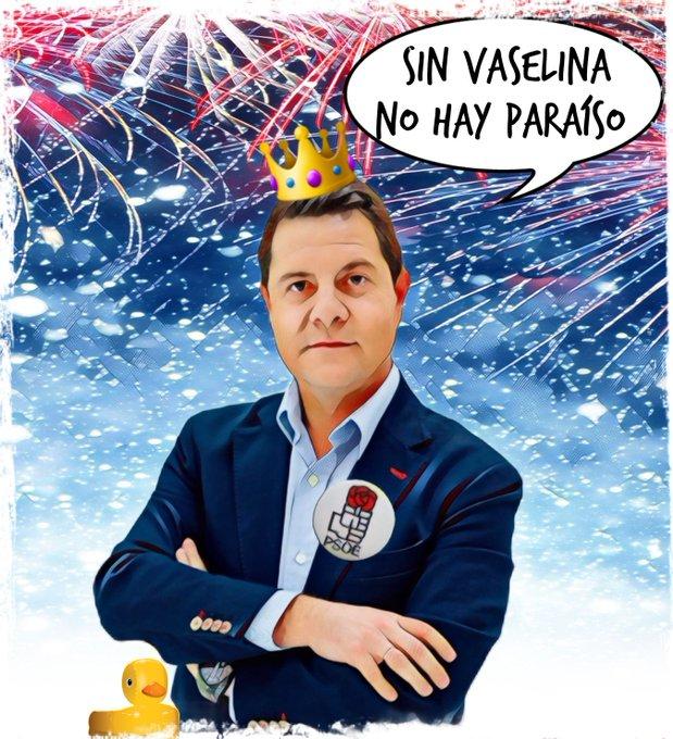 El virrey socialista de una parte de Castilla dice que Madrid es una bomba vírica radiactiva. Por Linda Galmor