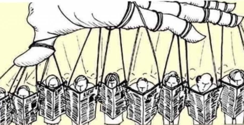 Estrategias de manipulación mediatica de Noam Chomsky