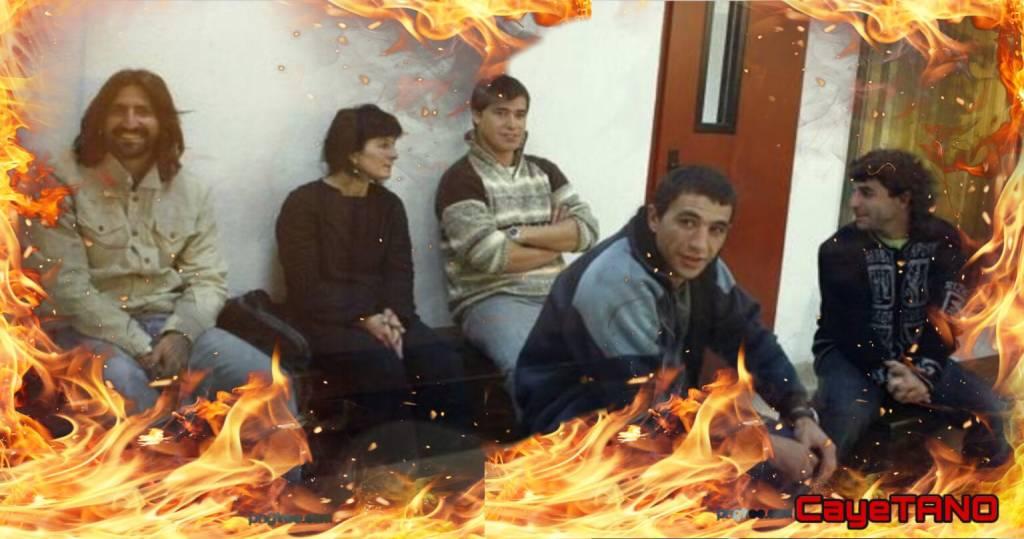 Igor González Sola, arde en el infierno junto a tus compañeros. Ilustración de Tano