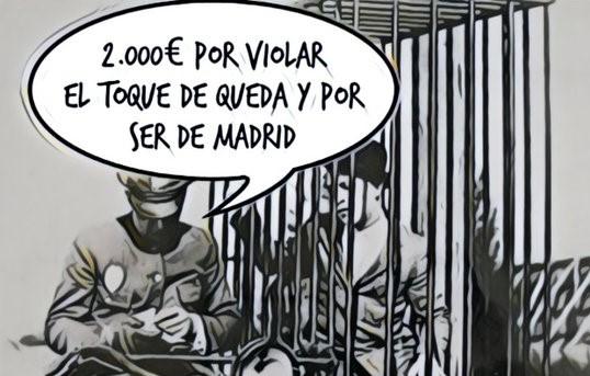 Madrid en el centro de las represalias