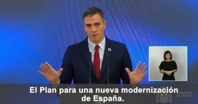 El Plan de Recuperación, Transformación y Resiliencia que hoy presentamos es nuestra hoja de ruta para la nueva modernización de España