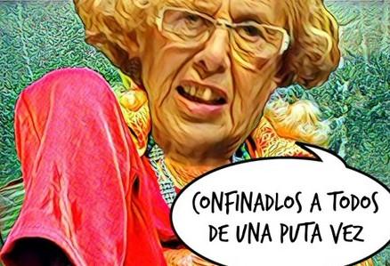 Los del consenso, hasta que les llevas la contraria, imponen el #confinamientomadrid