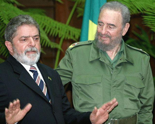Lula y Castro