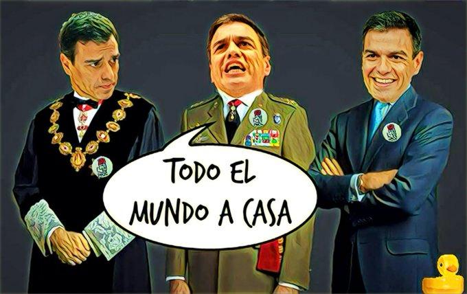Políticos, apartad vuestras manos de os jueces. En la ilustración de Linda Galmor: Pedro Maduro