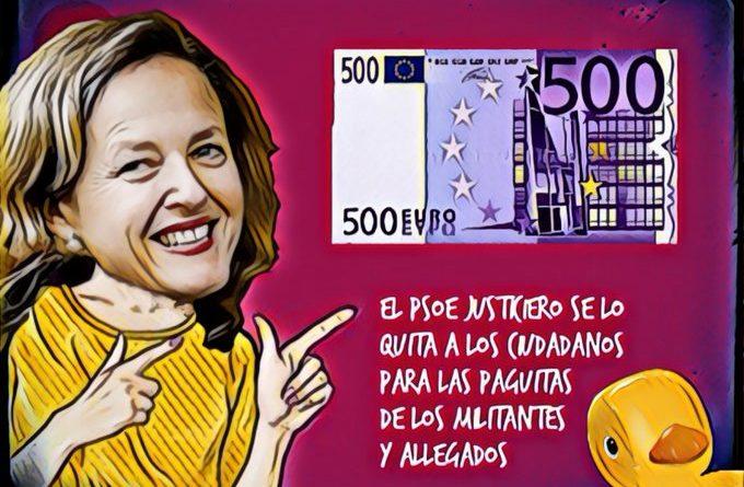 Tu dinero es mi dinero. El latrocinio socialista. Por Linda Galmor